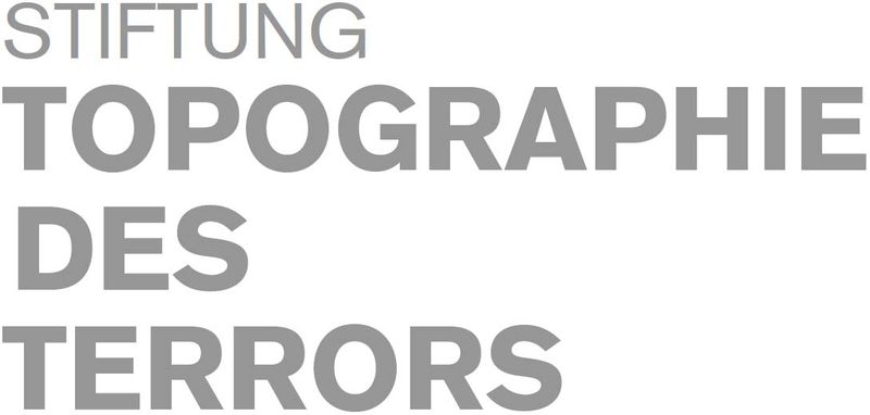 Bildergebnis für logo stiftung topographie des terrors